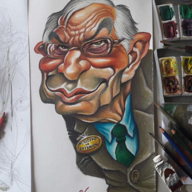 Joan Vizcarra Caricaturista Dibujante Pintor Y Artista